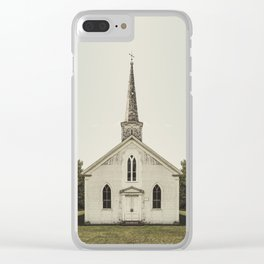 Church of Symmetry Clear iPhone Case