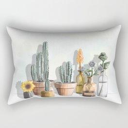 Cacti Babies Rectangular Pillow