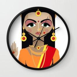 mata Parvati Wall Clock
