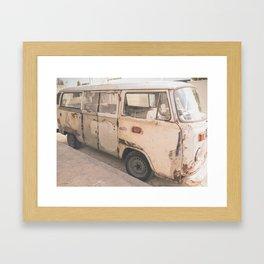 Combi Nation Framed Art Print
