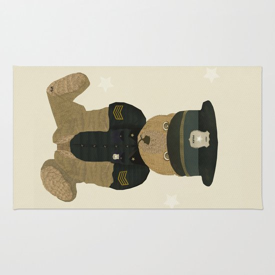 police ted  Rug