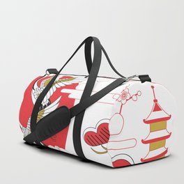 japan art Duffle Bag
