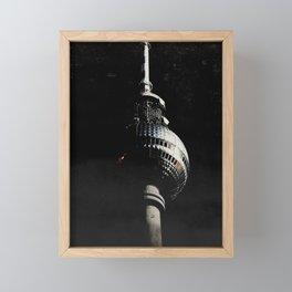 Tour de télévision de Berlin Framed Mini Art Print
