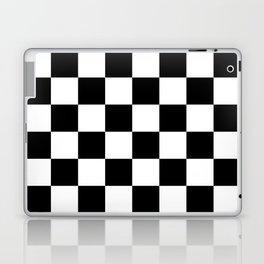 Black & White Checkered Pattern Laptop & iPad Skin
