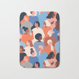 Diverse women Bath Mat
