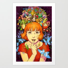 Into the Dream Art Print