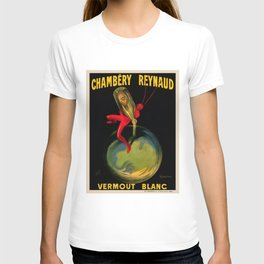 1909 Chambery Reynaud Vermouth Artist by Leonetto Cappiello T-shirt