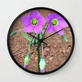 Wander in Myanmar Wall Clock