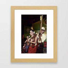 Culture Pipes. Framed Art Print