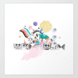 Utopiaverse Art Print