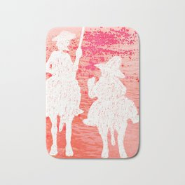 quixote and his friend Bath Mat