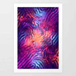 Artistic XCIV - Patterned Nebula Art Print