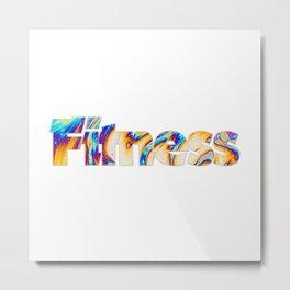 Fitness Metal Print