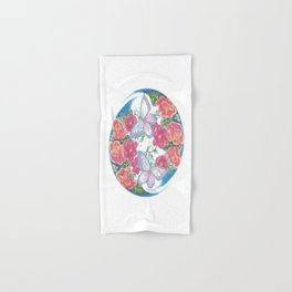 Flower Orb Hand & Bath Towel