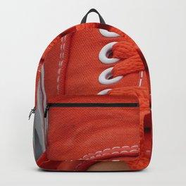 Red Sneaker Backpack