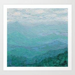 Appalachian Mist Art Print
