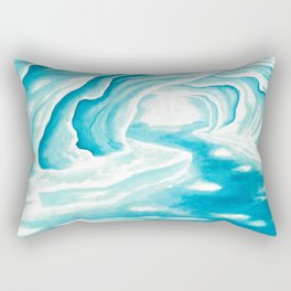 Ice Cavern Rectangular Pillow