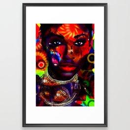 The Masks of colour 5  Framed Art Print