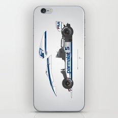 Outline Series N.º6, Nelson Piquet, Brabham BT-52 BMW, 1983 iPhone & iPod Skin