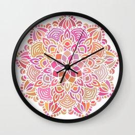 Mandala 09 Wall Clock