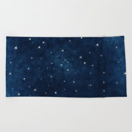 Whispers in the Galaxy Beach Towel