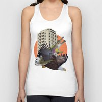 cage Tank Tops featuring Cage home by Lerson