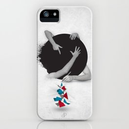 Something in Progress iPhone Case