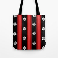rwby Tote Bags featuring Ruby Rose  by tofudelight