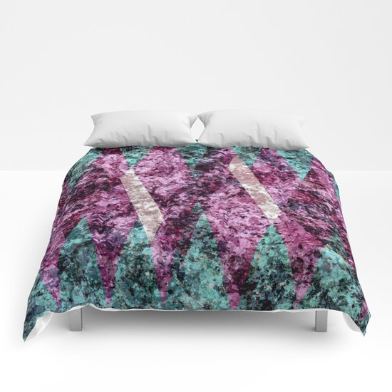 Marble Illusions Comforters
