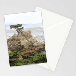 Lone Cypress  Of Monterey Stationery Cards