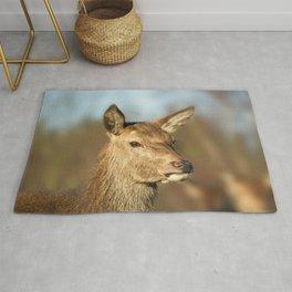 Wild Red Deer Rug
