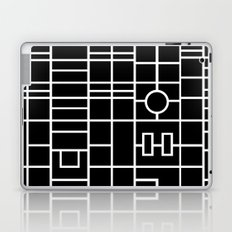 Map With Roundabout Laptop & iPad Skin