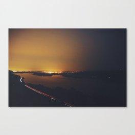 Vista Lights Canvas Print