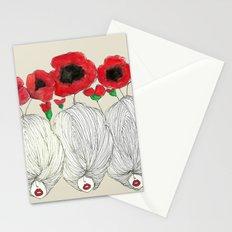 Poppy Girls Stationery Cards