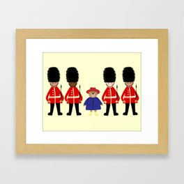 Marmalade Bear Framed Art Print