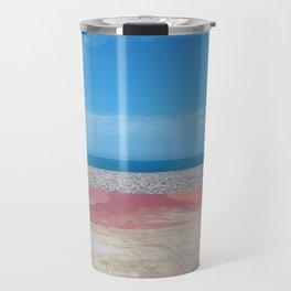 Black Sea Beach tender colors Travel Mug