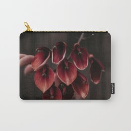 Red moody petals Carry-All Pouch