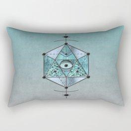 Sacred Geometry Eye Of Protection Rectangular Pillow