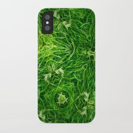The Mystery Of The Grass iPhone Case
