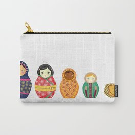 Russian Dolls Carry-All Pouch