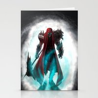 abyss Stationery Cards featuring Abyss by Jacob Giordano