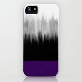 Asexuality Spectrum Flag iPhone Case