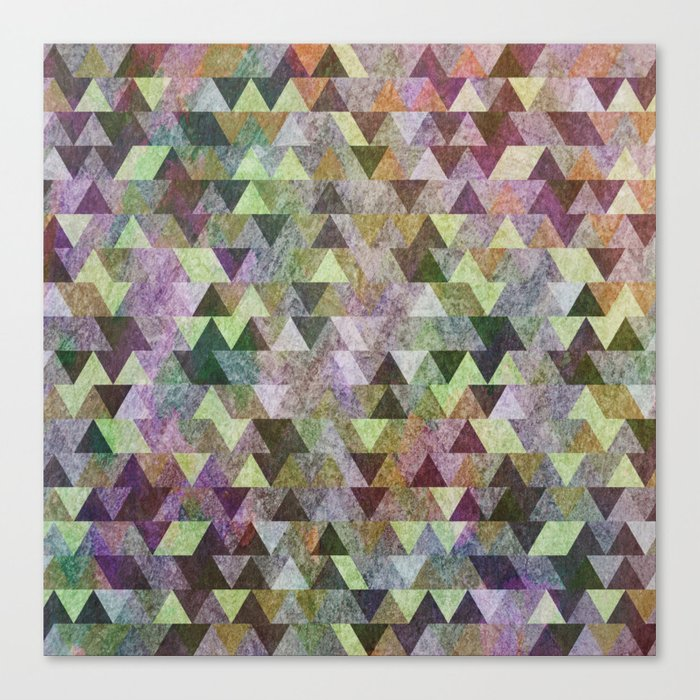 Geometric Pattern VIII Canvas Print