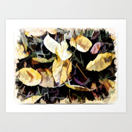 In Time For Autumn Art Print