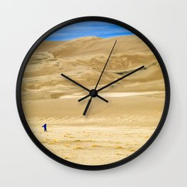 Great Sand Dunes, CO Wall Clock