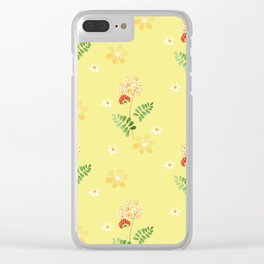 The flowers of the field. Clear iPhone Case