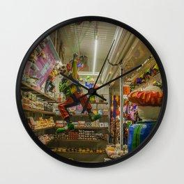 Mexican Market Wall Clock