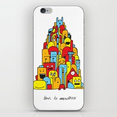 Monster Tower iPhone & iPod Skin