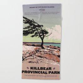 Killbear Provincial Park Beach Towel