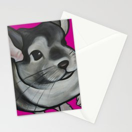 Bella the Chinchilla Stationery Cards